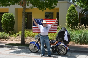 BUCK DEPARTS FOR STURGIS